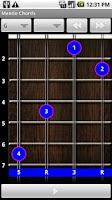 Screenshot of Mando Chords