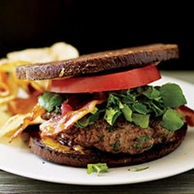 Welsh Rarebit Burgers