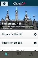 Screenshot of Canada's Capital Walking Tour