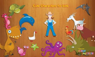 Screenshot of Kids Puzzles Game HD Lite