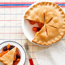 Peach-Blackberry Pie