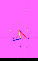 Screenshot of ExZentric Clock Live Wallpaper