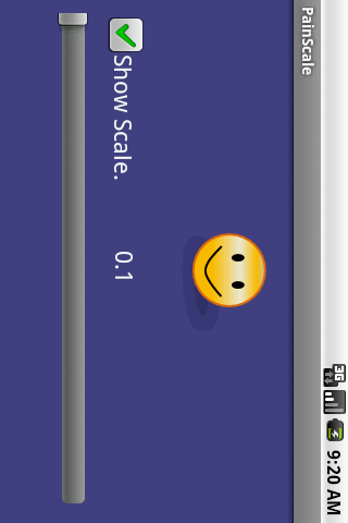 pain-scale for android screenshot