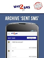 Screenshot of Way2SMS FREE SMS
