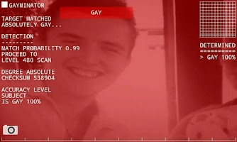 Screenshot of Gayminator