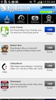 Screenshot of AppRedeem