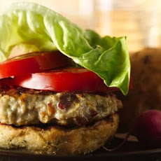 Blue Cheese and Bacon Chicken Burgers