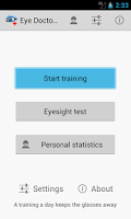 Screenshot of Eye Doctor Trainer - vision up