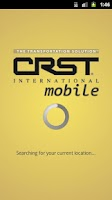 Screenshot of CRST Mobile