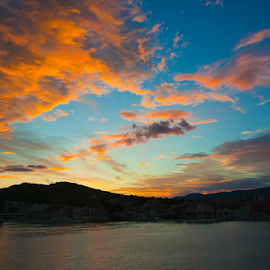 Sunset by Darko Kireta - Landscapes Sunsets & Sunrises ( zalazak, split )