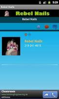 Screenshot of Rebel Nails