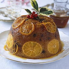 Sticky Orange & Marsala Pudding