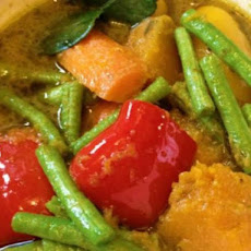 Pumpkin Green Curry