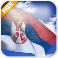 Android aplikacija Србија Застава уживо Позадина na Android Srbija