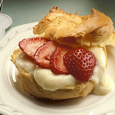 Reduced-Fat Cream Puffs