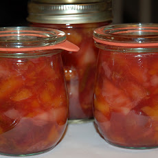 Peach-Plum-Lime-Ginger Jam