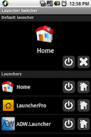 Screenshot of Launcher Switcher