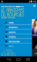 Screenshot of Le Printemps de Bourges 2015