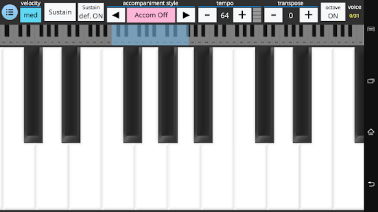 Accompanist Piano - screenshot