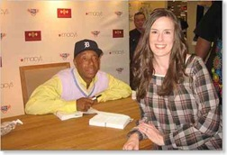 Beckie with Russell Simmons