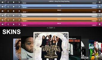 Screenshot of iSense Music - 3D Music Player