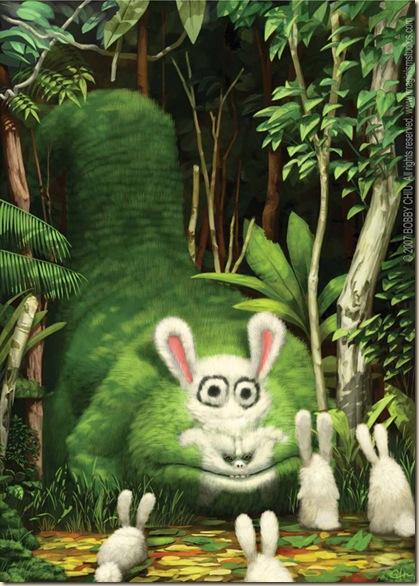 big-bad-bunny-eater-art