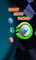 Screenshot of Night Moto Race 2015