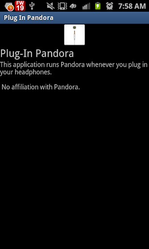 Plug In Pandora