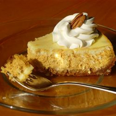 Marbled Pumpkin Cheesecake