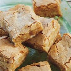 Pine Nut Blondies from 'Around the Southern Table'