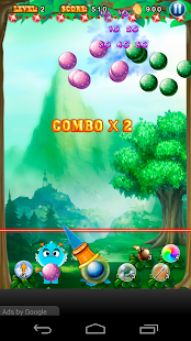 Bubble Dragon Adventure - screenshot