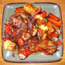 Stir-Fried Eggplant and Tofu