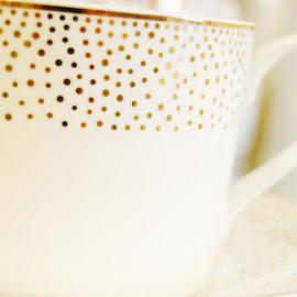 Tea Time by Leah Lisee - Artistic Objects Cups, Plates & Utensils