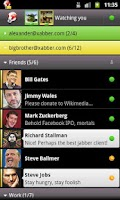 Screenshot of Xabber Development Version