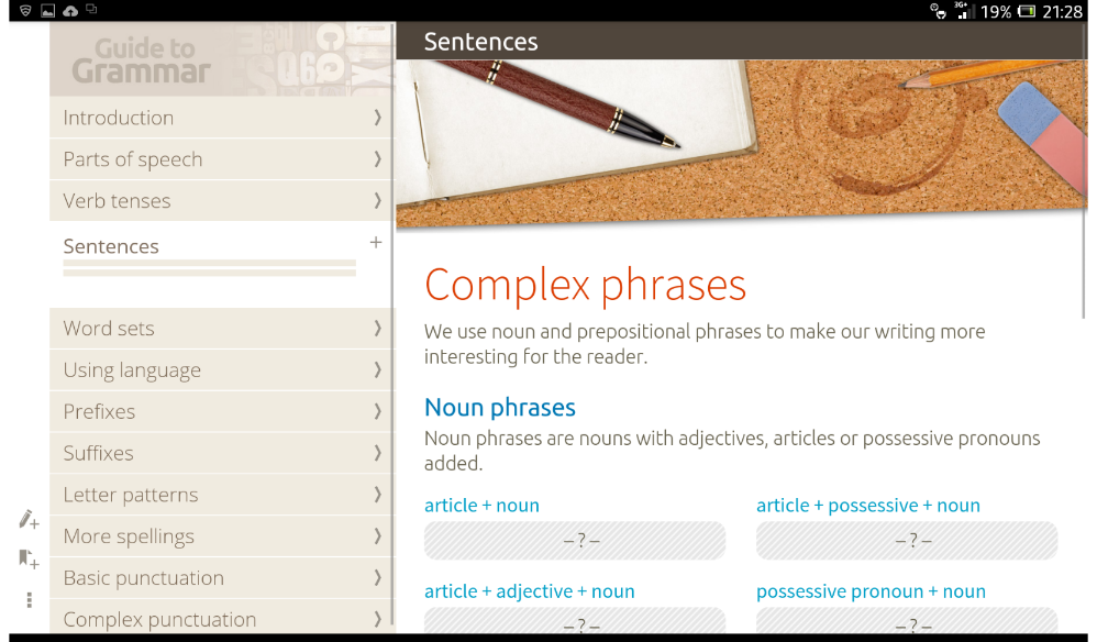 Guide to Grammar - nimbl Screenshot 11
