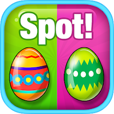 Spot Differences: Easter Eggs