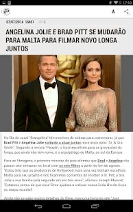 App Purepeople Brasil - Famosos APK for Windows Phone