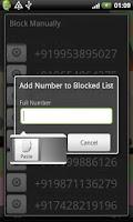 Screenshot of Block SPAM SMS