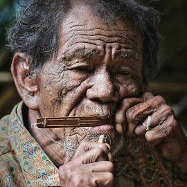The Man From Toraja by Noer Adie - People Portraits of Men (  )