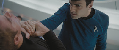 Golpe Spock. Choke hold
