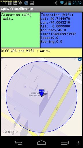 免費工具App|Location Diff GPS vs Wifi|阿達玩APP
