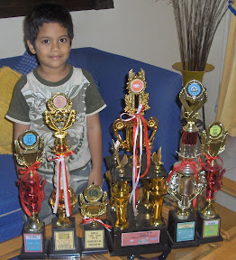 Bagus' Trophy Collection