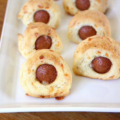 Make-Ahead Cheesy Pigs in a Blanket