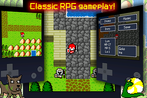 Aidinia • 8-bit RPG - screenshot