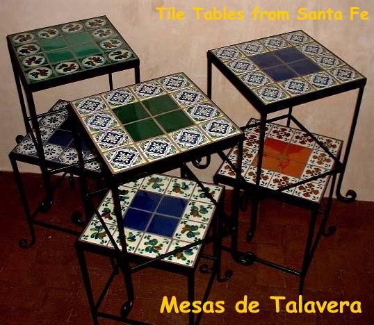 Talavera Table Catalog: