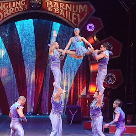 Circus Acrobat Lands by Stephen Beatty - News & Events Entertainment