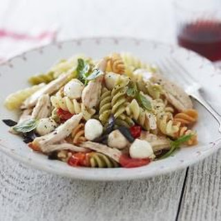 Tricolore Pasta Salad With Herby Chicken