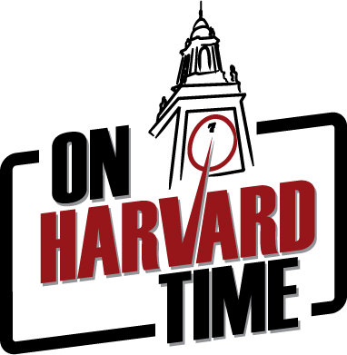 On Harvard Time logo