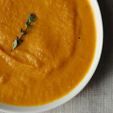 Roasted Carrot Soup byReeve