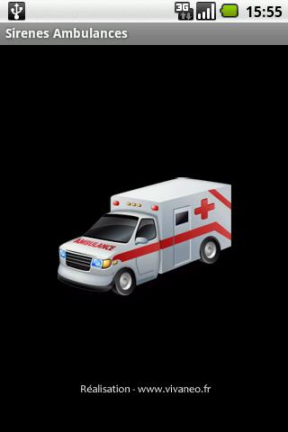 救護車警報聲和燈光